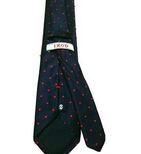🍒IZOD navy dot tie
